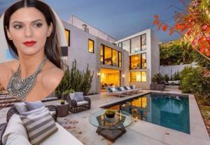 Biệt thự sân vườn hồ nước tuyệt đẹp của 'chân dài' Kendall Jenner