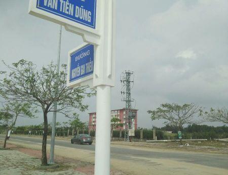 Bán 4 lô biệt thự MT đường  Văn Tiến Dũng - Điện Ngọc – Quảng Nam.